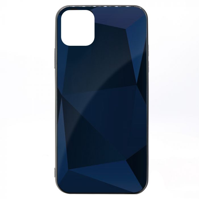 Carcasa iPhone 11 Pro Max Meleovo Glass Diamond Dark Gray