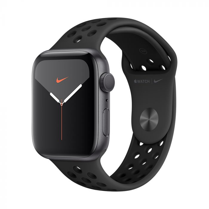 Apple Watch 5 Nike GPS Space Grey Aluminium Case 40mm cu Anthracite/Black Nike Sport Band