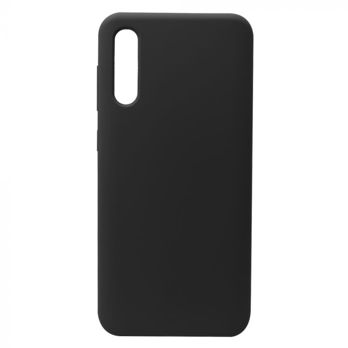 Carcasa Samsung Galaxy A70 Lemontti Liquid Silicon Black