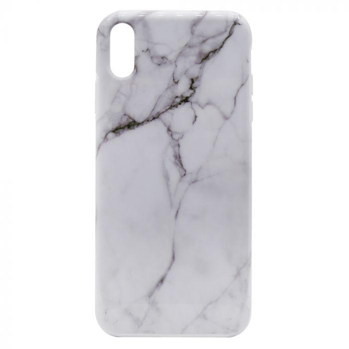 Carcasa iPhone XS Max Devia Marble White