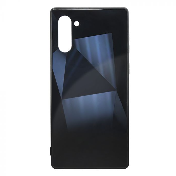 Carcasa Samsung Galaxy Note 10 Meleovo Glass Diamond Black