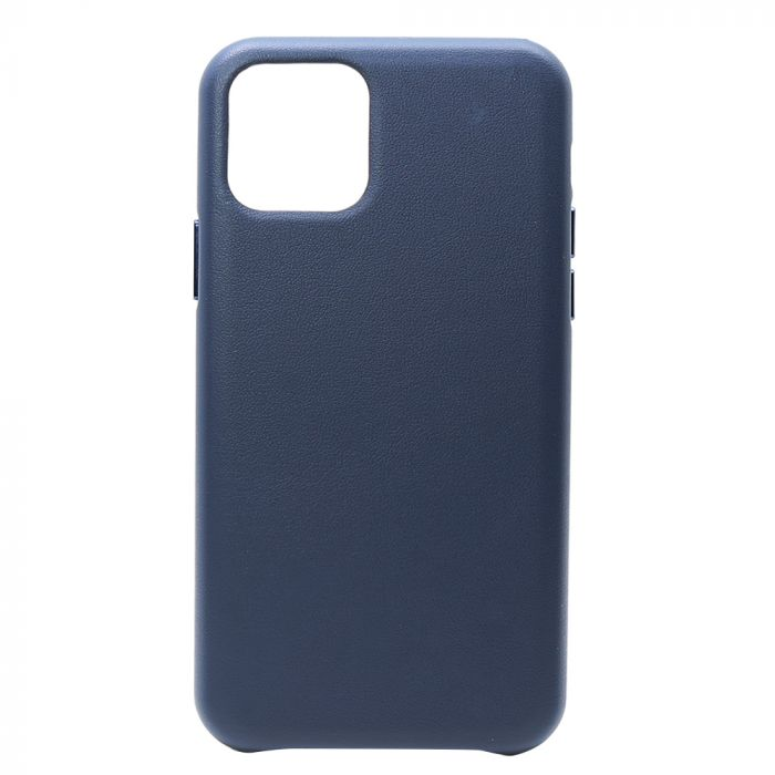 Carcasa iPhone 11 Pro Meleovo Leather Dark Blue
