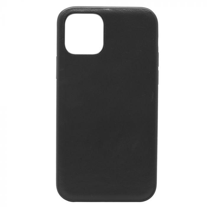 Carcasa iPhone 11 Pro Meleovo Back Leather Black