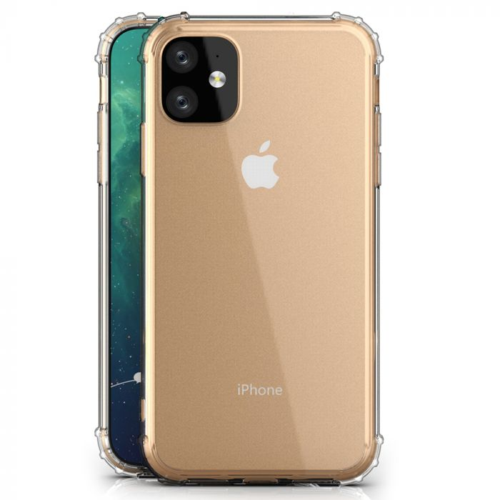 Husa iPhone 11 Just Must Silicon Shock TPU I Clear