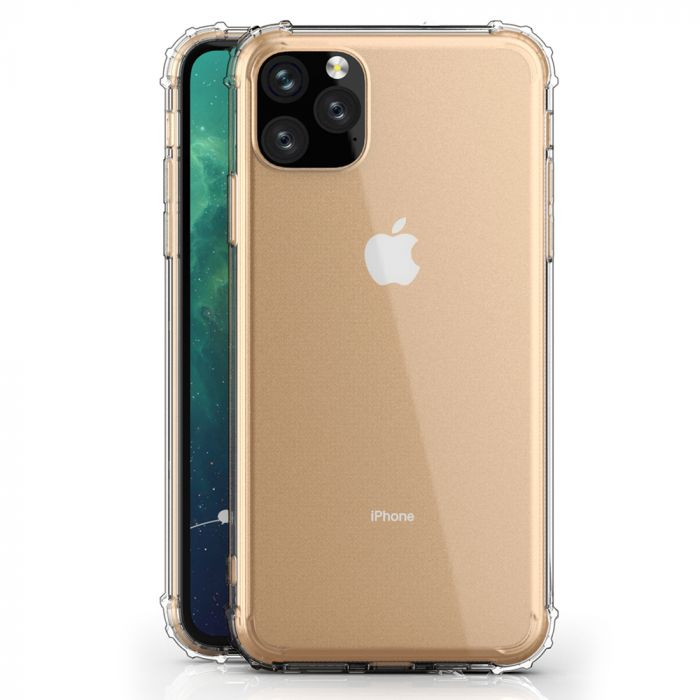Husa iPhone 11 Pro Max Just Must Silicon Shock TPU I Clear