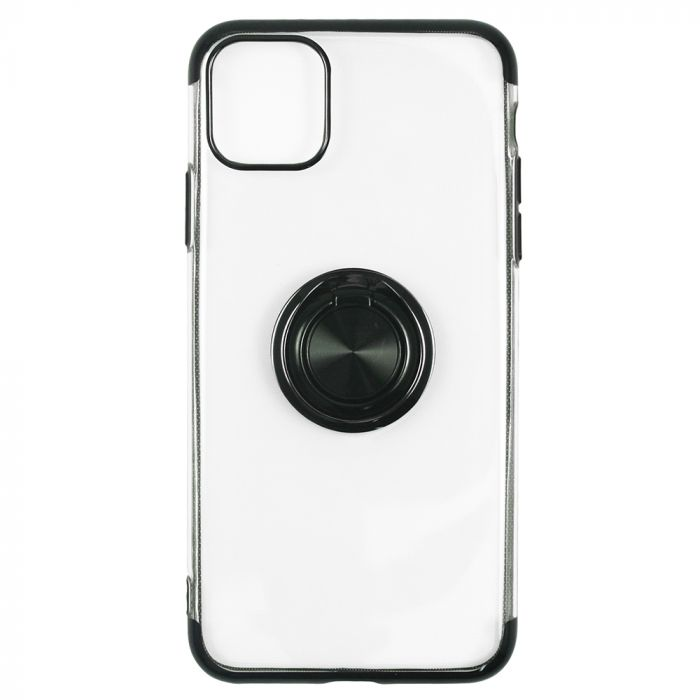 Husa iPhone 11 Just Must Silicon Mirror Ring Black