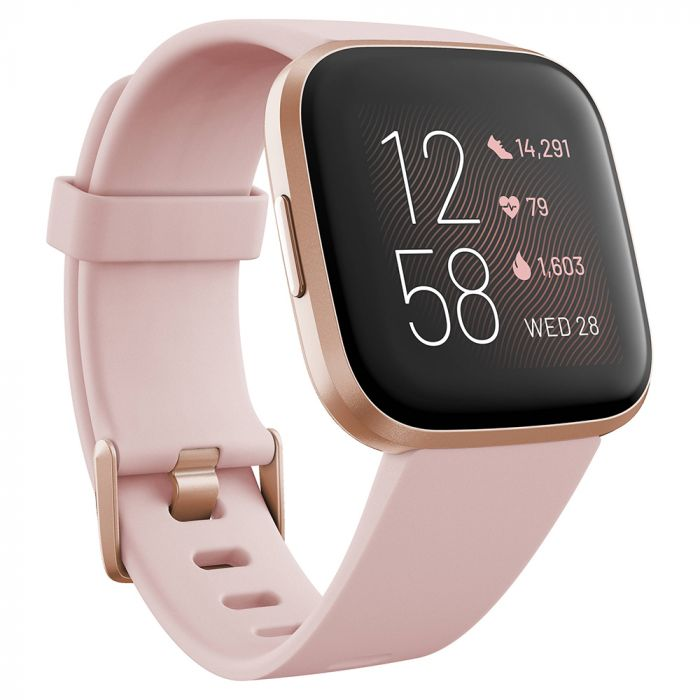 Smartwatch Fitbit Versa 2 (NFC) Petal / Copper Rose Aluminum