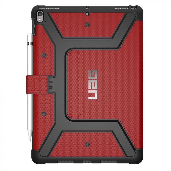 Husa iPad 7 10.2 inch UAG Book Metropolis Series Magma