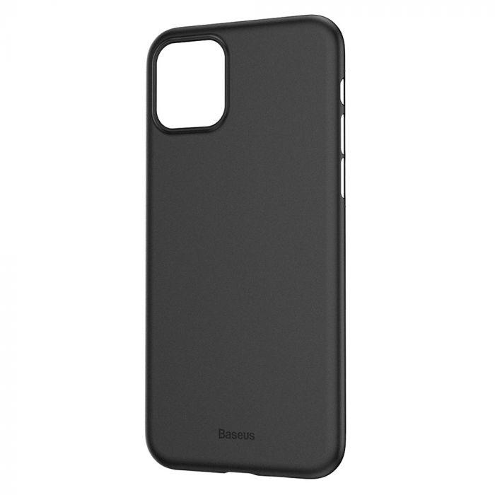 Carcasa iPhone 11 Baseus Wing Transparent Black