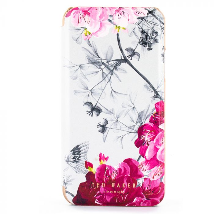 Husa iPhone 11 Pro Ted Baker Book Folio Mirror Babylon Nickel