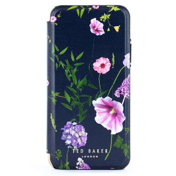 Husa iPhone 11 Pro Ted Baker Book Folio Mirror Hedgerow