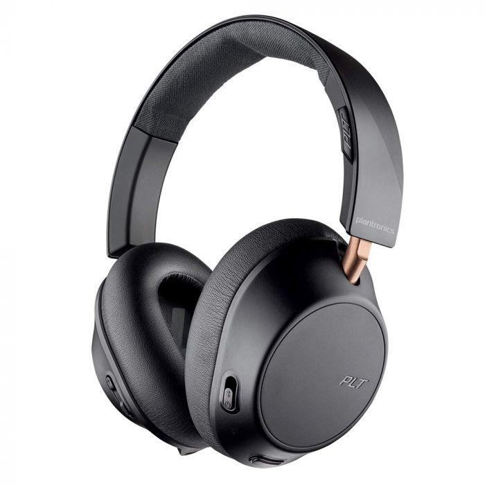Casti Bluetooth Wireless Plantronics BackBeat GO 810 Negru Grafit