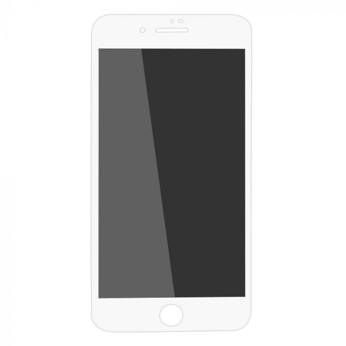Folie iPhone 8 / 7 Lemontti Sticla Privacy White