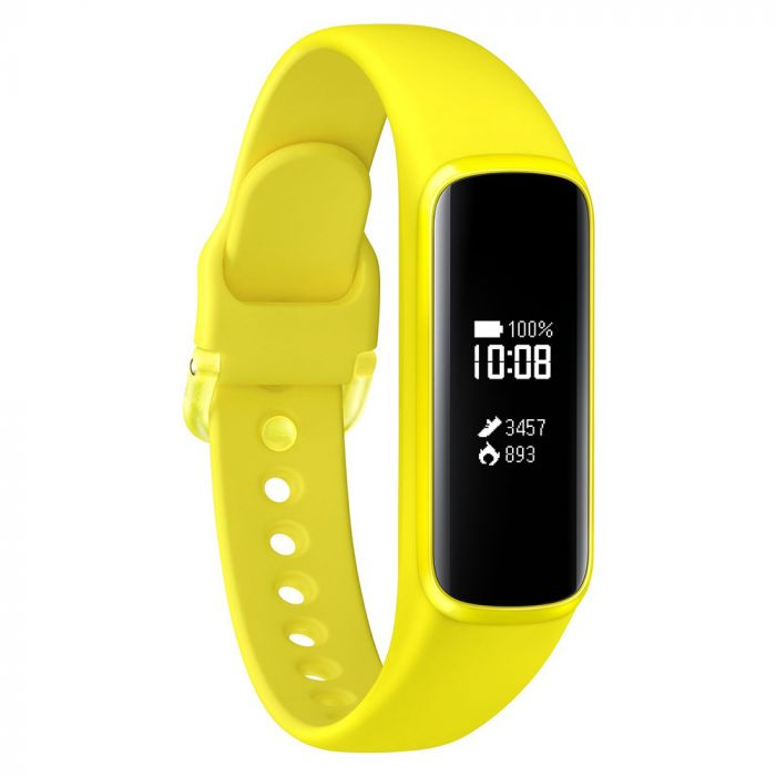 Samsung Bratara Fitness Galaxy Fit e Bluetooth 5.0 Yellow