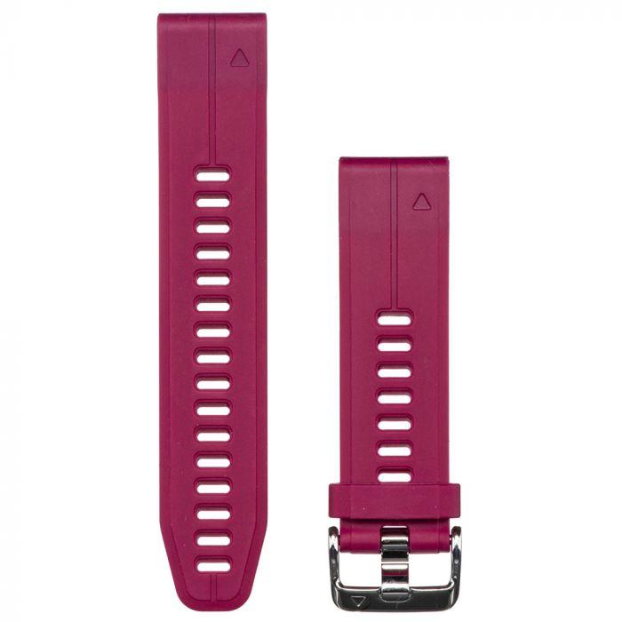Curea QuickFit 20mm Silicon Garmin Red Cherry