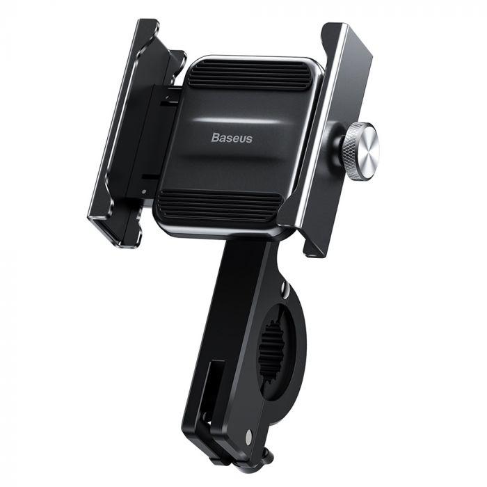 Suport Telefon pentru Bicicleta din metal Baseus Knight Black