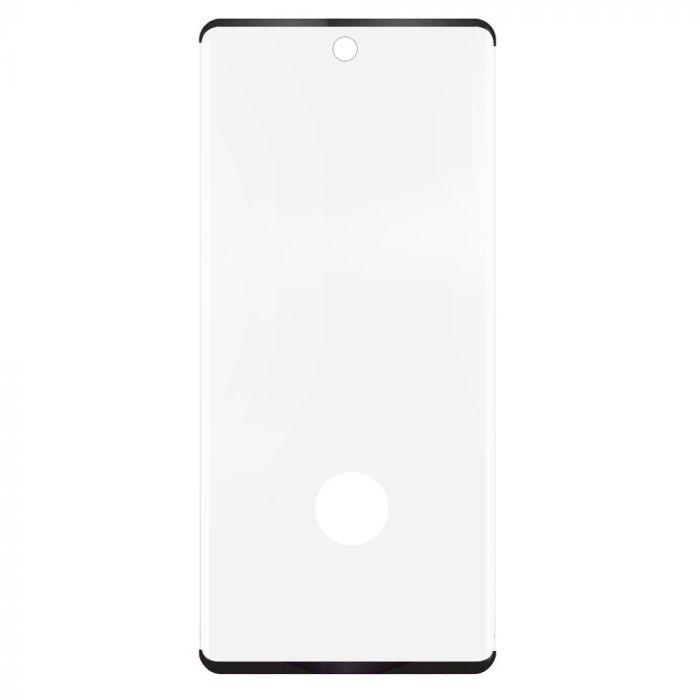 Folie Samsung Galaxy S20 Plus Eiger Sticla 3D Case Friendly Clear Black