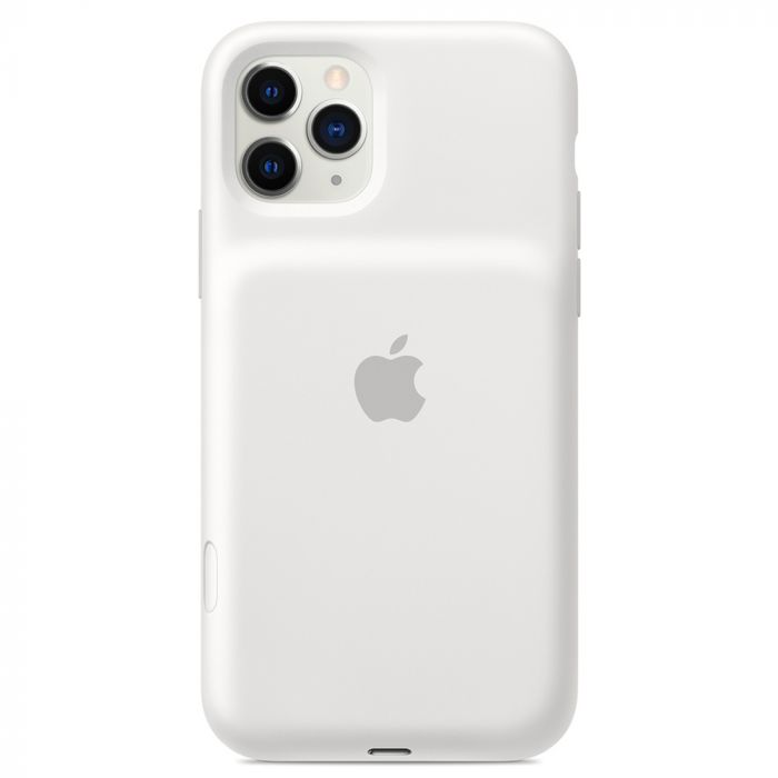 Husa iPhone 11 Pro Apple Smart Battery cu Wireless Charging White