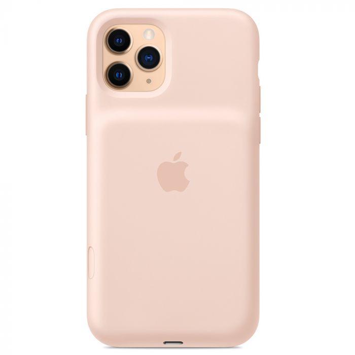 Carcasa iPhone 11 Pro Apple Smart Battery cu Wireless Charging Pink Sand