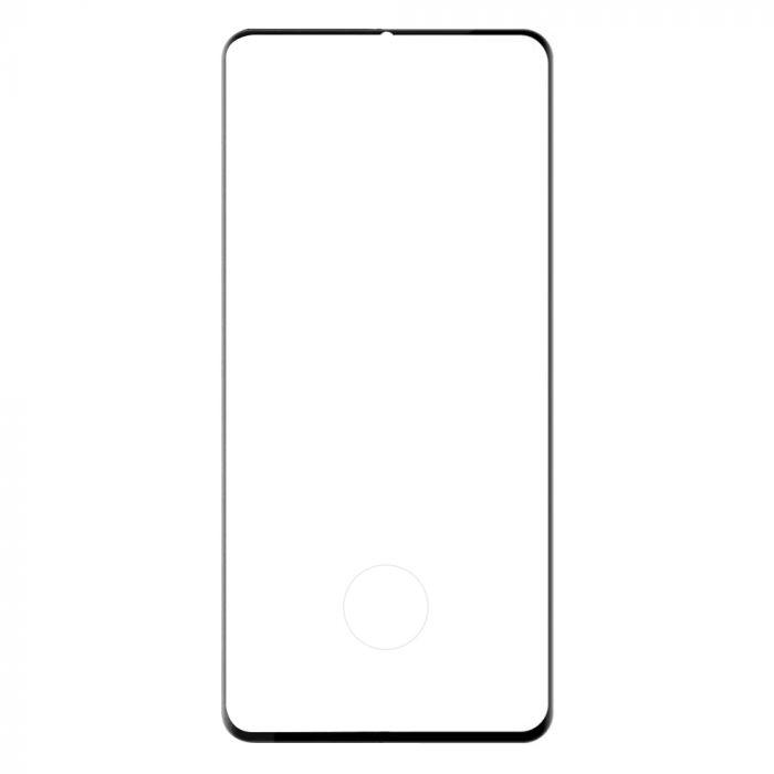 Folie Xiaomi Mi CC9 Pro Lemontti Sticla Curbata 3D Black