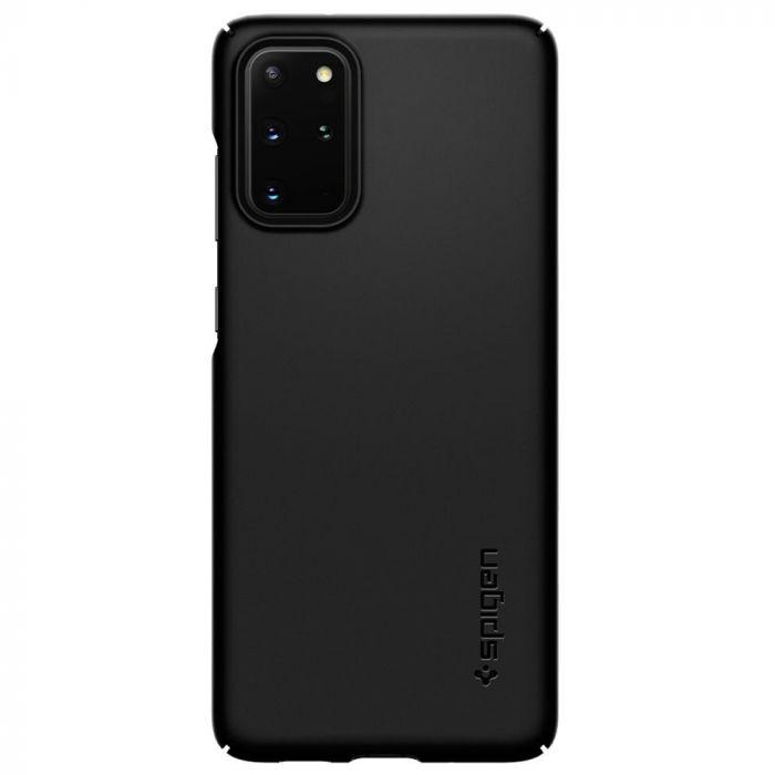 Husa Samsung Galaxy S20 Plus Spigen Thin Fit Black
