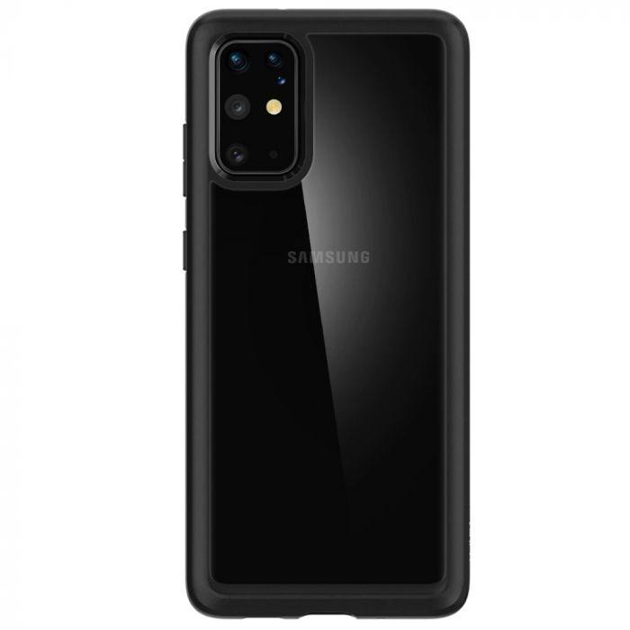 Husa Samsung Galaxy S20 Plus Spigen Ultra Hybrid Black