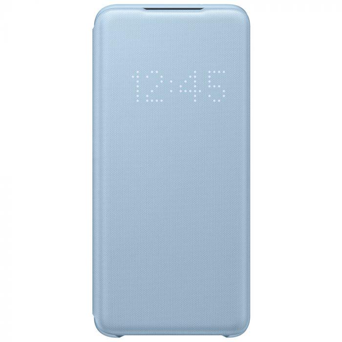 Husa Samsung Galaxy S20 Samsung Book Led View Sky Blue