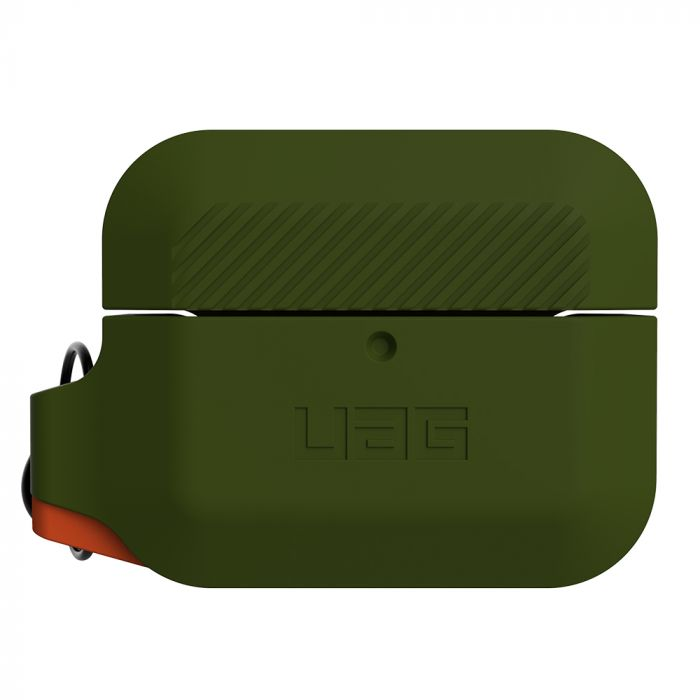 Husa Airpods Pro UAG Silicon Olive Drab / Orange
