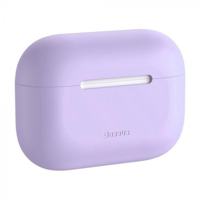 Husa Airpods Pro Baseus Super Thin Silica Gel Case Purple