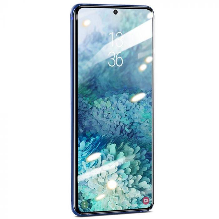 Folie Samsung Galaxy S20 Plus Baseus Sticla Curbata 3D Clear