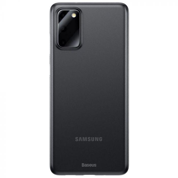 Husa Samsung Galaxy S20 Baseus Wing Transparent Black
