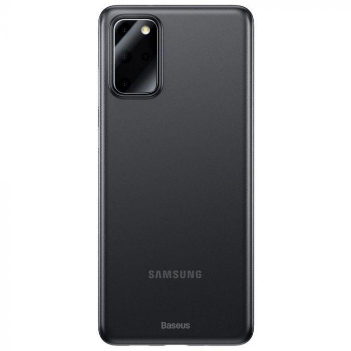Husa Samsung Galaxy S20 Plus Baseus Wing Transparent Black