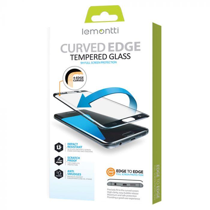 Folie Huawei P40 Pro / P40 Pro Plus Lemontti Sticla Curbata 3D Black