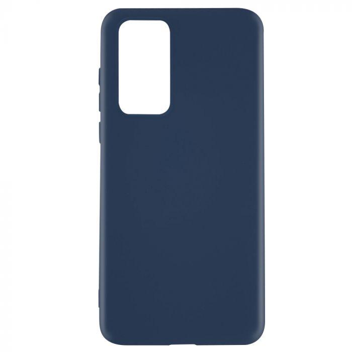 Husa Huawei P40 Lemontti Silicon Silky Albastru Inchis