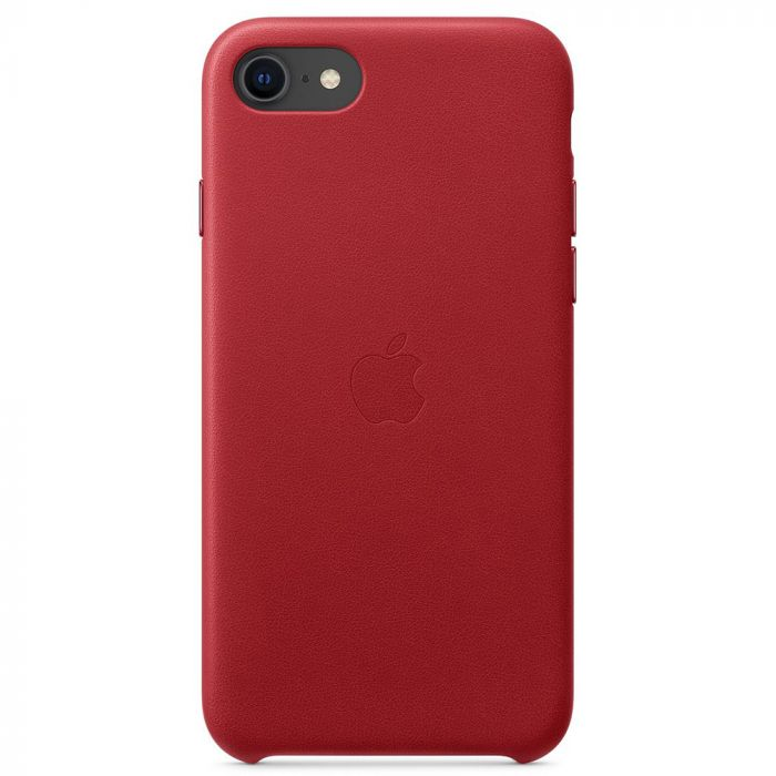 Husa iPhone SE 2020 Apple Leather Red
