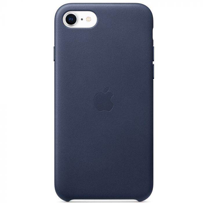 Husa iPhone SE 2020 Apple Leather Midnight Blue