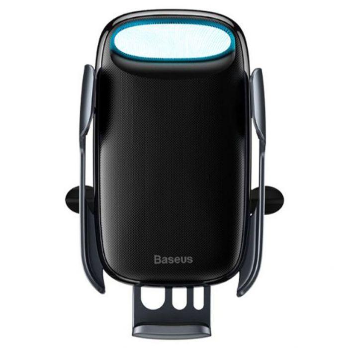 Suport Baseus Auto Milky Way cu Wireless Chaarger Black ( prindere la ventilatie)