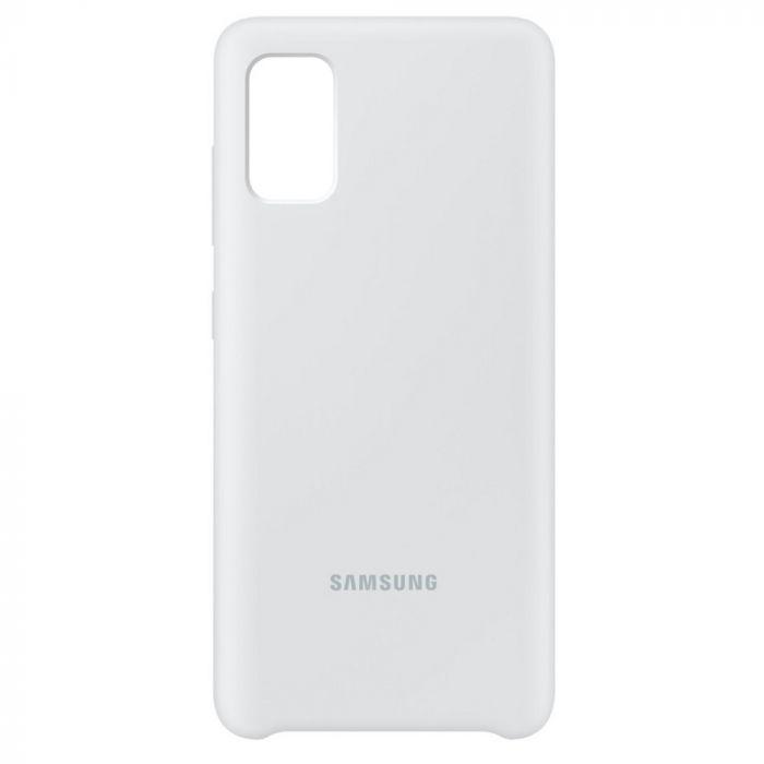 Husa Samsung Galaxy A41 Samsung Silicone Cover White