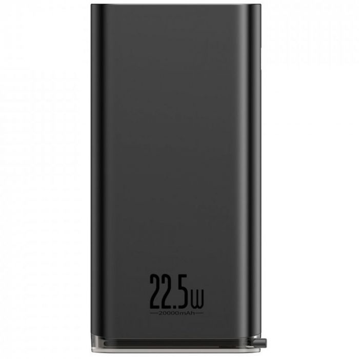 Power Bank Baseus Starlight Digital Display Quick Charger Black (20.000 mAh, 22.5W)