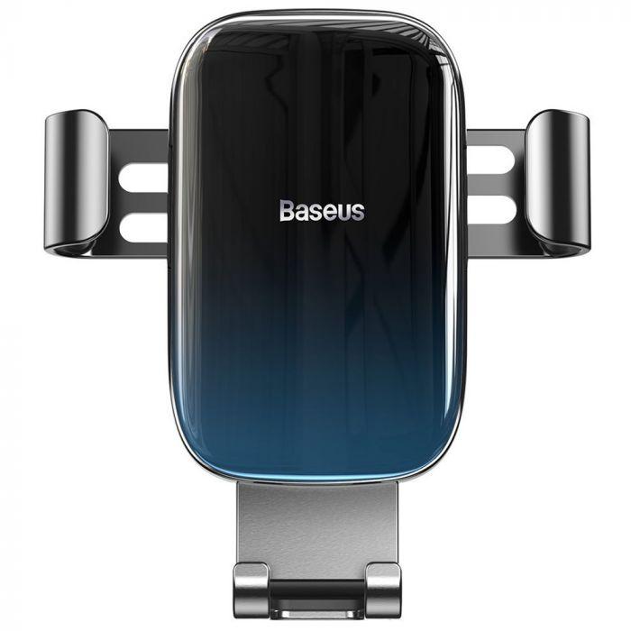Suport Baseus Auto Glaze Gravity Black (cu prindere la ventilatie)
