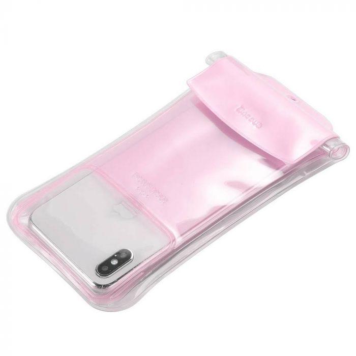 Husa Baseus Subacvatica Safe Airbag Pink