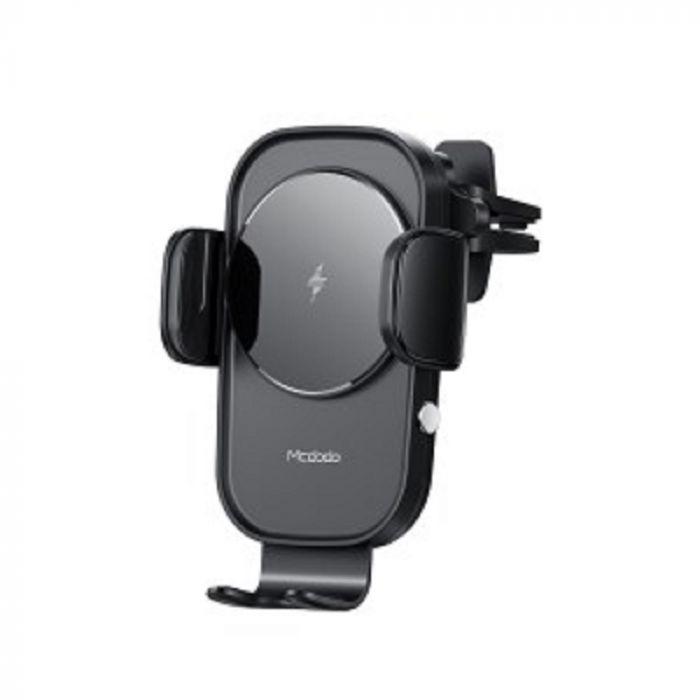 Suport Mcdodo Auto Sky Series cu Wireless Charger Black