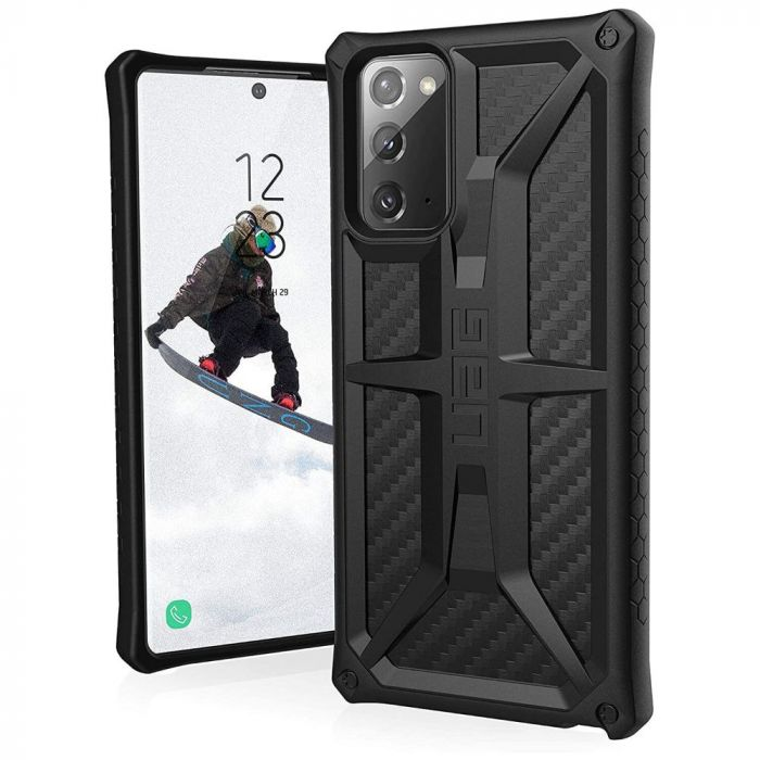 Husa Samsung Galaxy Note 20 UAG Monarch Series Carbon Fiber