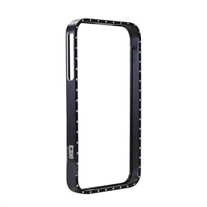 Bumper iPhone 4/4S Swiss Charger Aluframe Ladies Negru