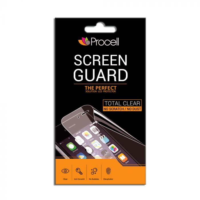Folie iPhone 4/4S Procell Spate Clear (spate Round Shape)