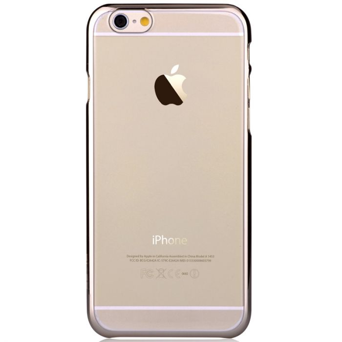 Carcasa iPhone 6/6S Devia Glimmer Champagne Gold (rama electroplacata)