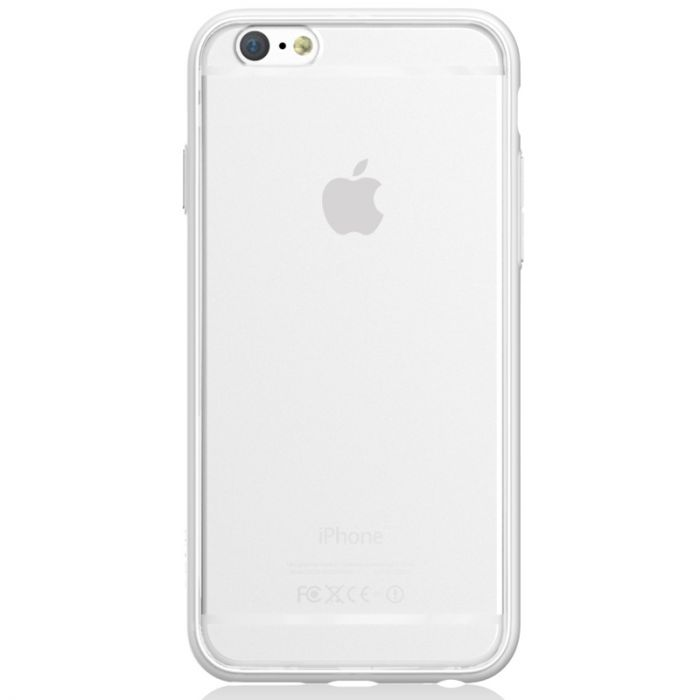 Carcasa iPhone 6/6S Devia Hybrid White (laterale anti-shock)