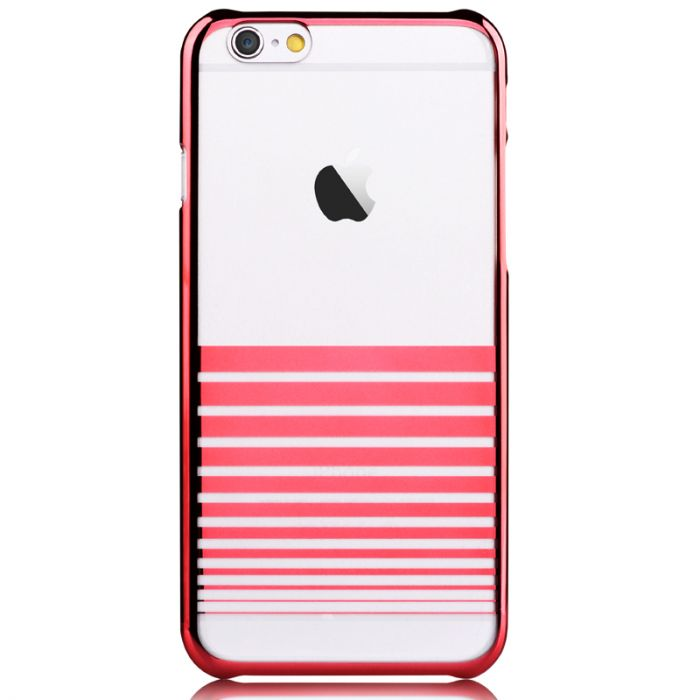 Carcasa iPhone 6/6S Devia Melody Passion Red (cu elemente metalice)