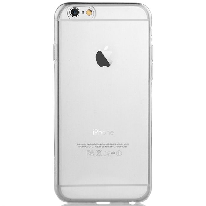 Husa iPhone 6 Plus Devia Silicon Naked Crystal Clear (0.5mm)