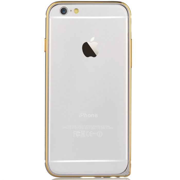 Bumper iPhone 6 Plus Devia Aluminium Silver